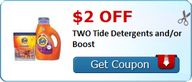 $2.00 off TWO Tide D