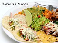 Rotel carnitas tacos