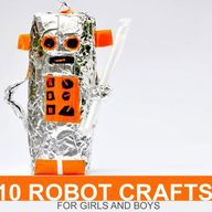 10 Robot Crafts