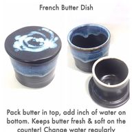 French Butter Dish.