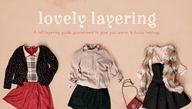Lovely Layering – A