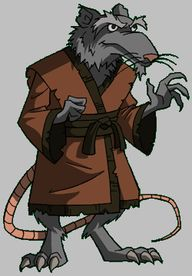 Splinter from TMNT