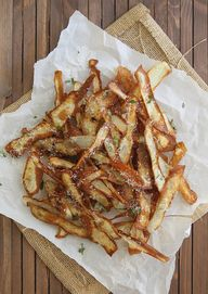 crispy potato strips