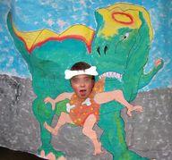 photocall dinosaurio
