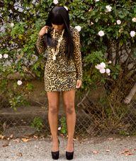 long sleeved leopard...