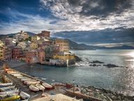 Boccadasse - an old