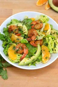 Shrimp and Avocado C