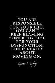 Heed Oprah's words.