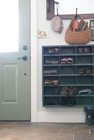 Shoe Storage by the