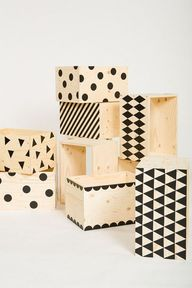 DIY: Patterned crate