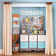 Repurposed Closet fo