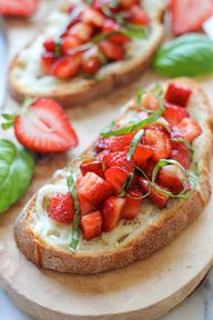 Strawberry Caprese B