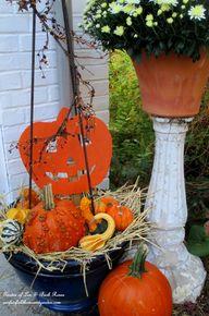 Fall Outdoor Decor ~