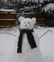 cutest snowbear ever