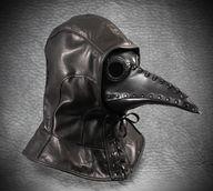 Plague Doctor Hood a...