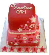 American Girl Cake