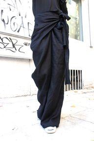 Loose Linen Black Pa