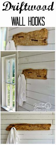 Driftwood Wall Hooks