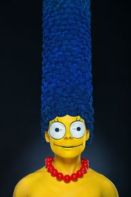 Real Marge Simpson...