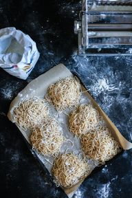 homemade spaghetti ~