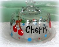 Hand Painted Cherry