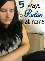 5 ways to relax with