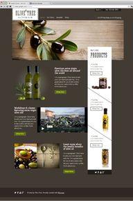 Olive Shop - sidebar
