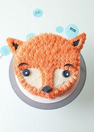 DIY Fox Cake Decorat