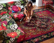 Sobre o tapete turco