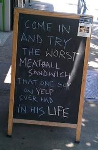 Funny Restaurant Sig