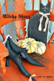 Free Witchy Shoe pat