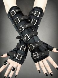 Armstulpen Handschuh