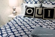 Navy Blue Bedding by