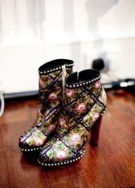 bohemian chic boots