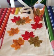 Autumn treasure bag