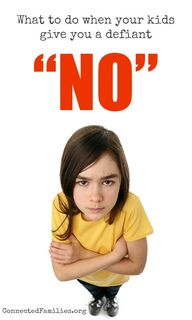 When kids say No! pa