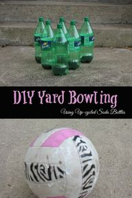 DIY Yard Bowling Set
