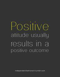 Positive attitude us