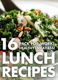 16 healthy recipes t