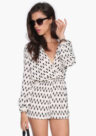 patterned jumper.