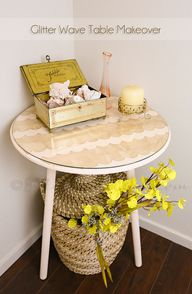 Glitter Wave Table M