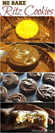 No-Bake Ritz Cookies