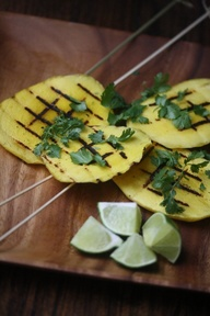 Grilled Mango Skewer