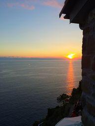 Sunset in Cinque Ter