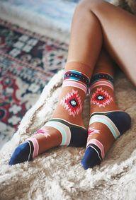 Cozy aztek socks | F