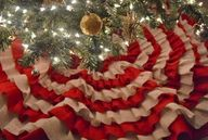 Burlap Tree Skirt -