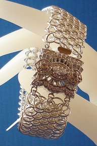 chain mail jewelry...