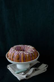 Blueberry Almond Cak