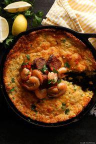 Shrimp and Spoonbrea