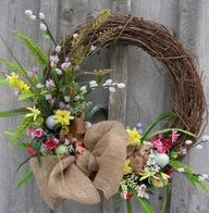Easter Wreath Spring
